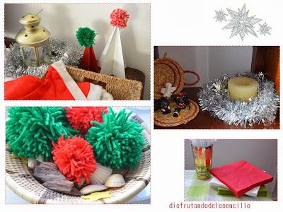 detalles fiesta navidad decoración