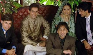 Wedding Pics Of Erum Akhtar Debina Beenish Chohan Bushra Ansari Daughter Aliya Imam