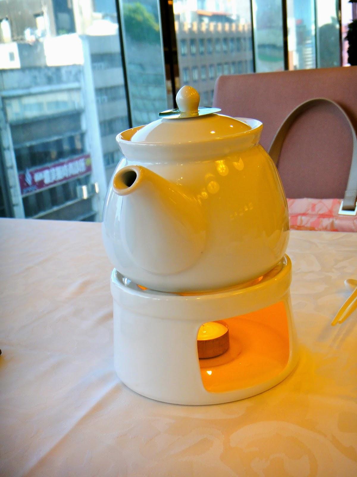 Chinese Tea at Shin Yeh Restaurant Zhongshan Taipei