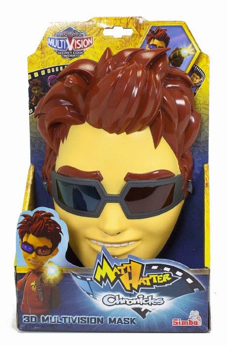 JUGUETES - Matt Hatter Chronicles  Máscara Multivision 3D | Disfraz  Producto Oficial Serie Clan | Simba