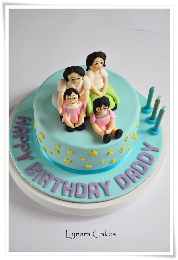 Birthday Cake Images For Daddy : Lynara Cakes: Cake for Daddy birthday