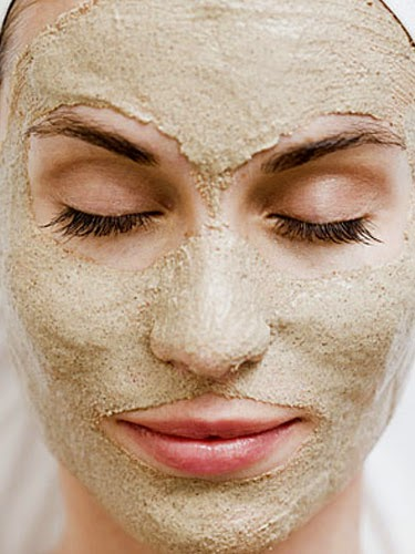 Maske gegen Hautflecken