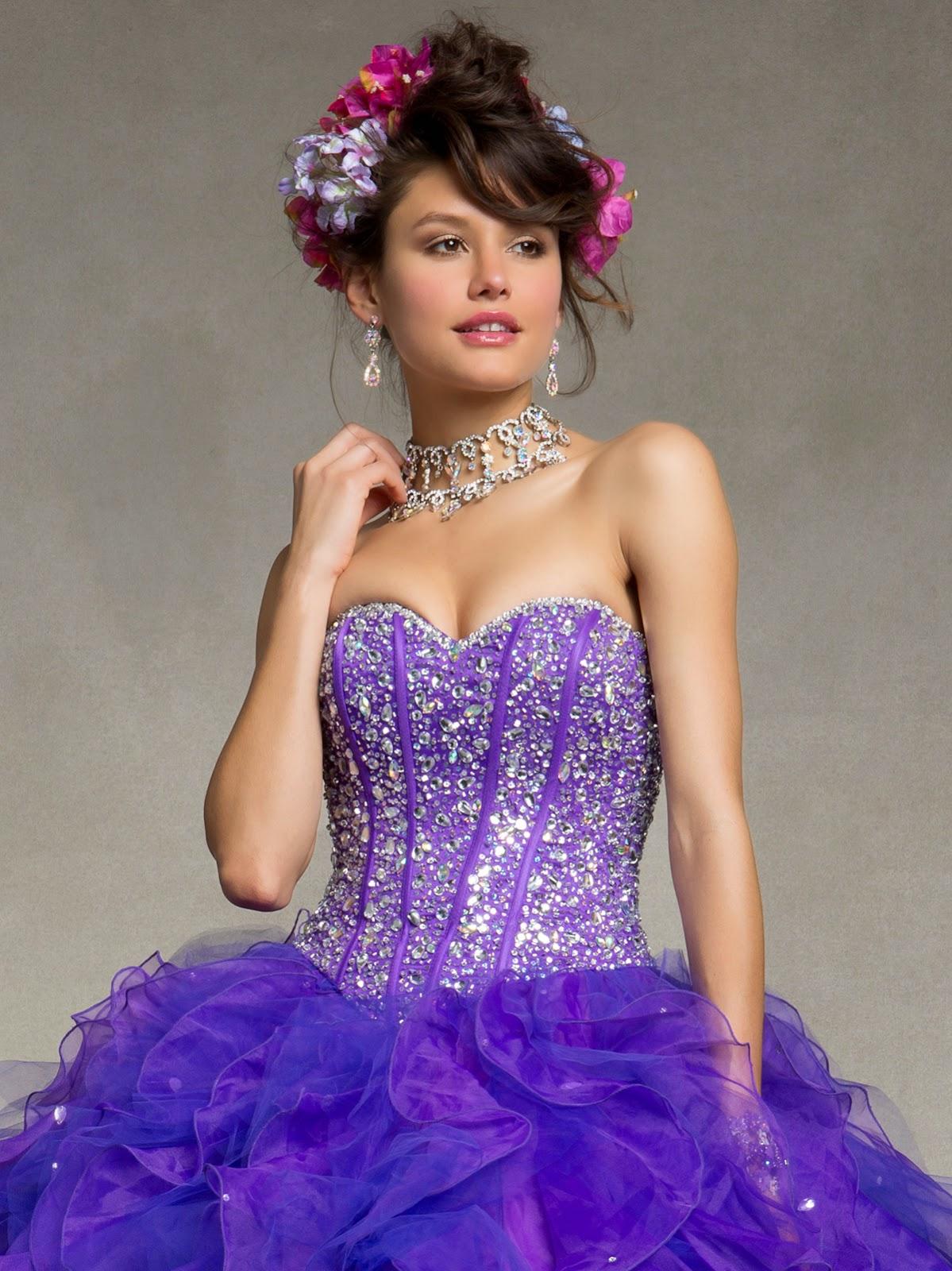 Lindos vestidos de 15 años