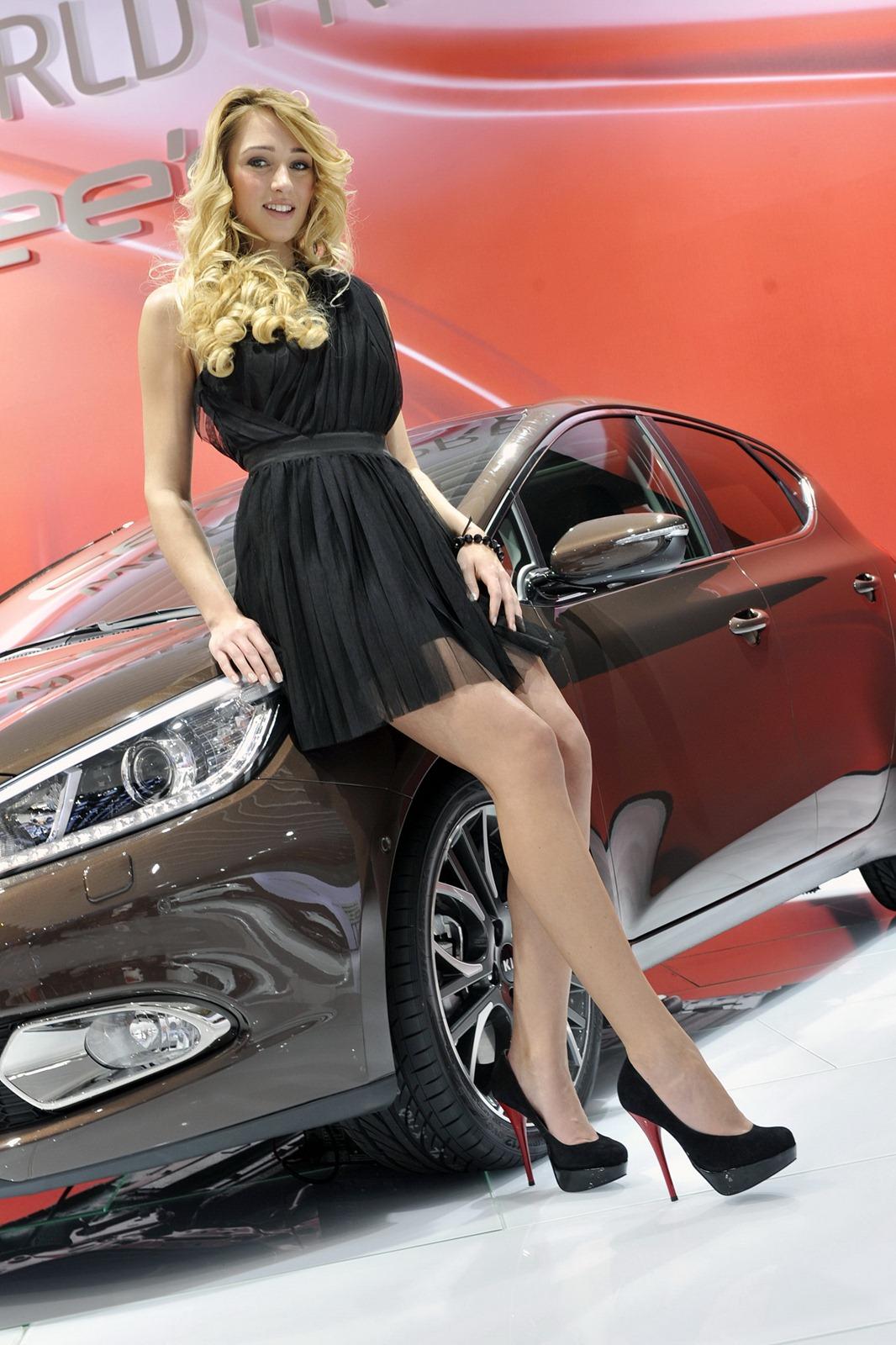 2012 Geneva Motor Show Ladies Autooonline Magazine