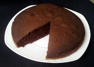 Ciasto czekoladowe z winem