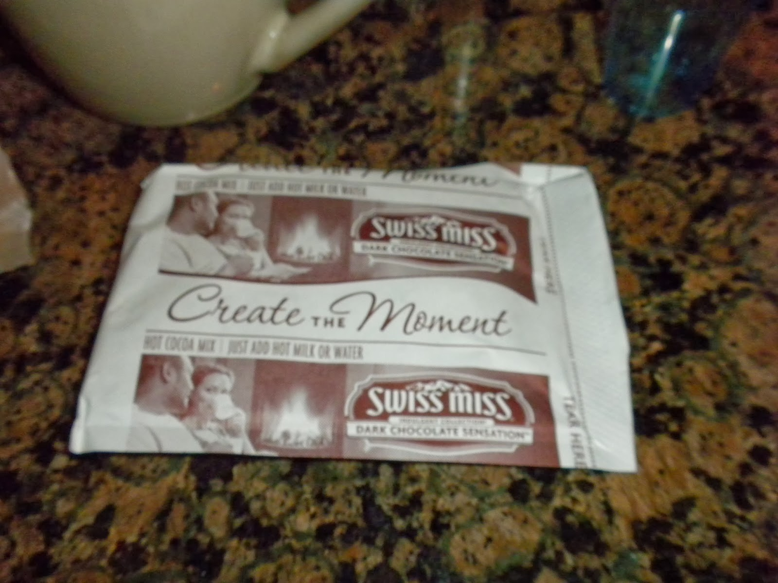 "Swiss Miss ""Create the Moment"" Dark Chocolate Sensation"