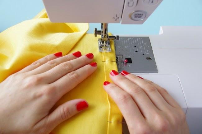 Sew a hem