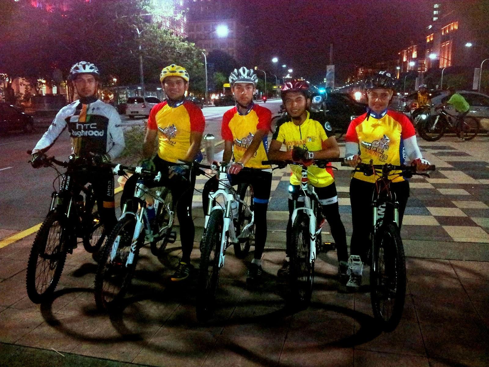 11102013 Kayuhan Pertama Kelab Zulq'73 de Putrajaya