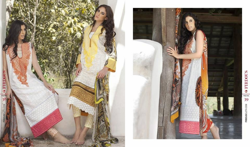 Firdous Summer Lawn Collection