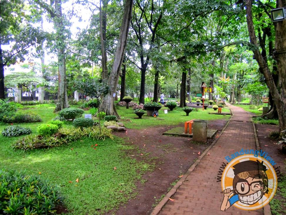 Taman pustaka bunga kandaga puspa Bandung
