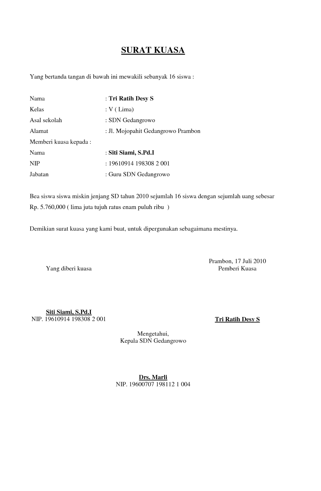Contoh Resume Interview Spa 8