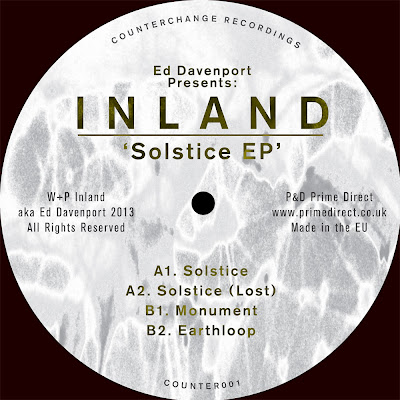discosafari - ED DAVENPORT presents: INLAND - Solstice EP - Counterchange Recordings