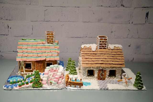 english cottage gingerbread house | RamblingRenovators.ca