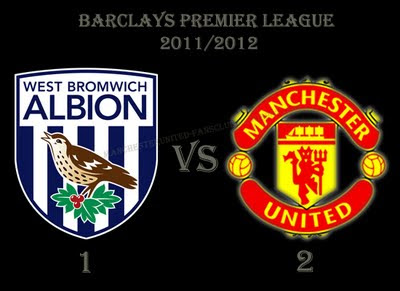 Barclays Premier League Results West Bromwich Albion vs Manchester United