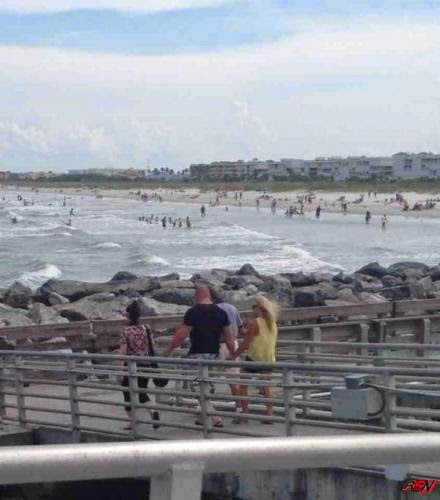 Brock Lesnar and Sable Spotted on South Beach.