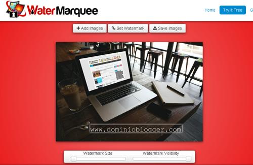 Agrega marcas de agua a tus imagenes con WaterMarquee