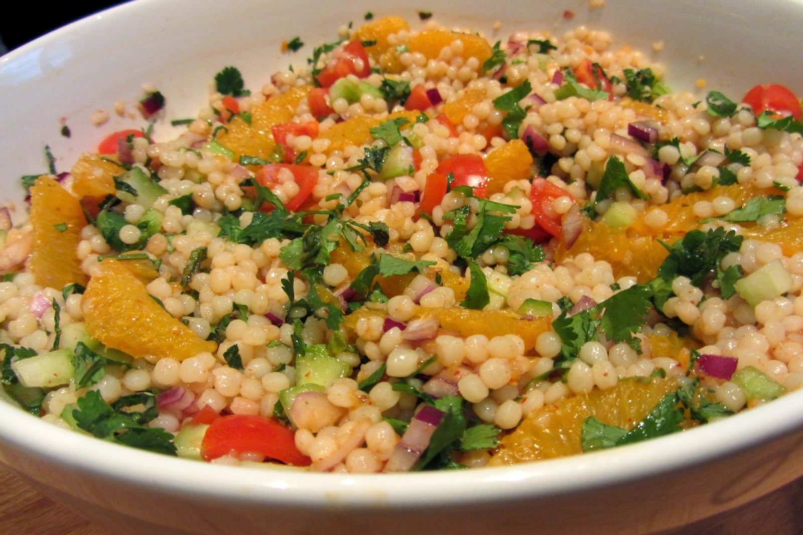 Slimming World Delights: Orange,Harissa and Giant Cous ...
