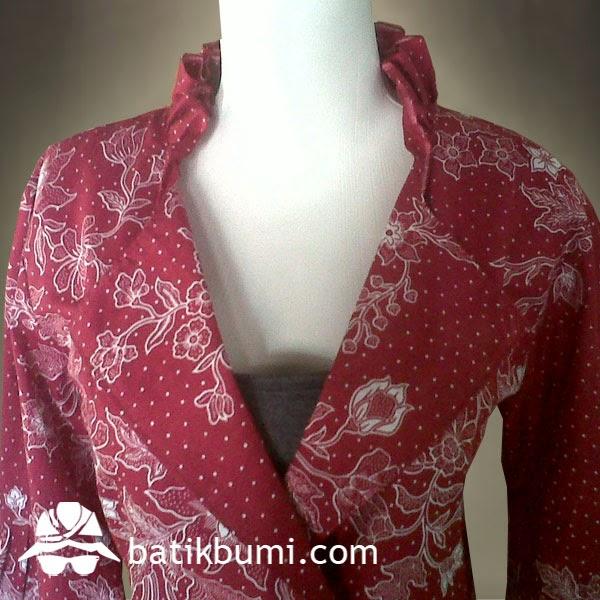 blouse batik kantor