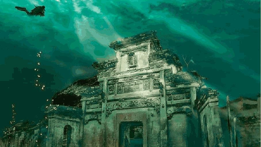 Kota Singa di Danau Qiandao