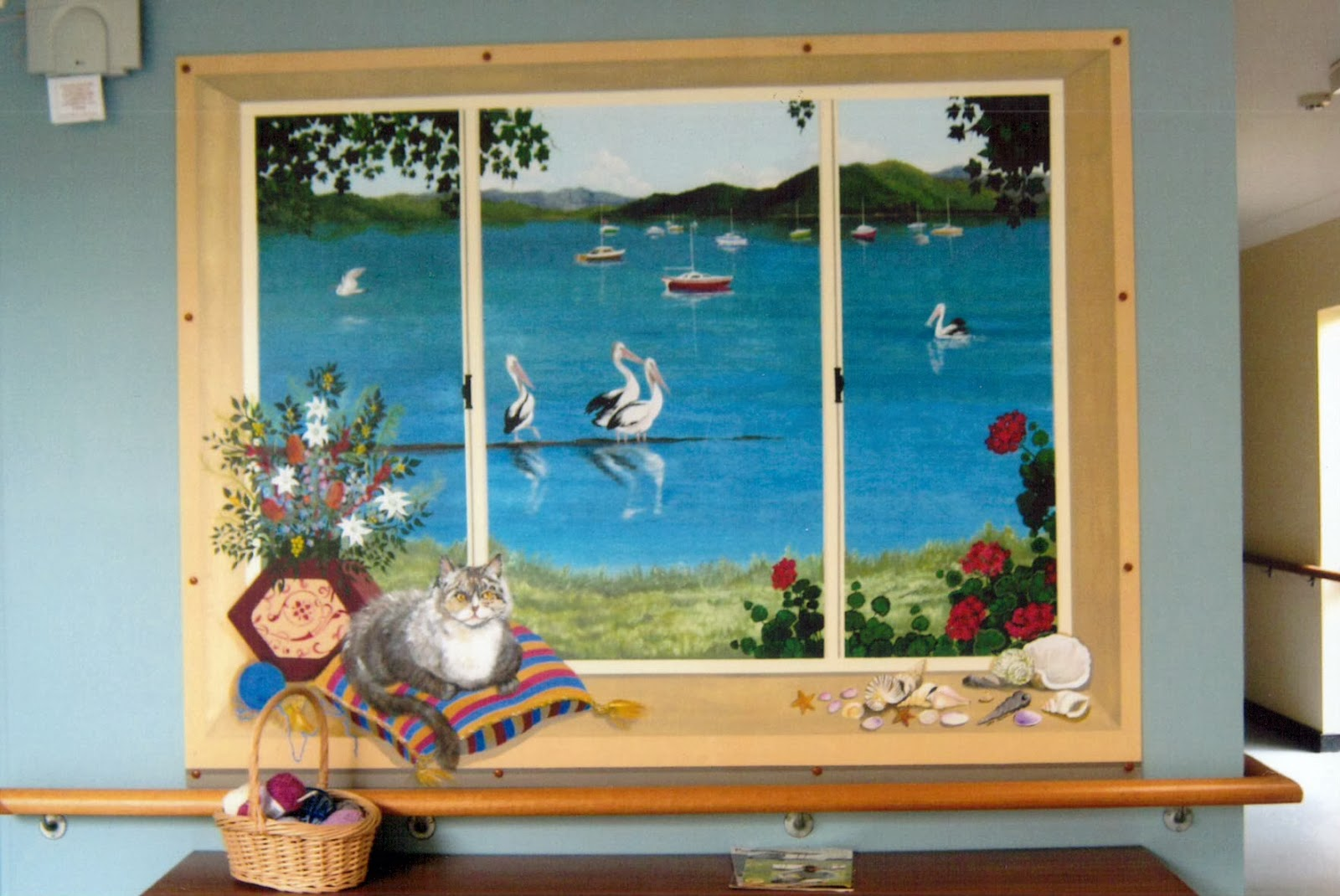 Creativity For The Creator Illusion Murals In Dementia Areas