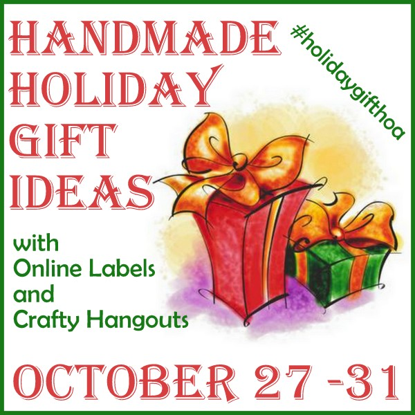 Handmade Holiday Gift Ideas via Crafty Hangouts and Online Labels