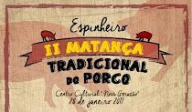 ESPINHEIRO (ESTREMOZ): MATANÇA TRADICIONAL DO PORCO