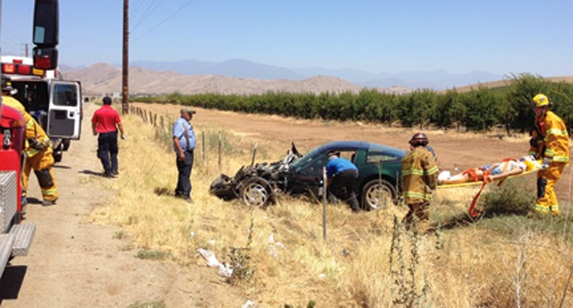 suv car crash tulare county toyota corvette avenue 196 road 256 charlene ardith cowdery