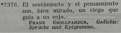 frases de Franz Grillparzer