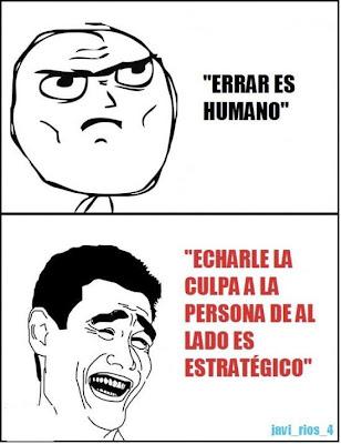 Errar es Humano ...