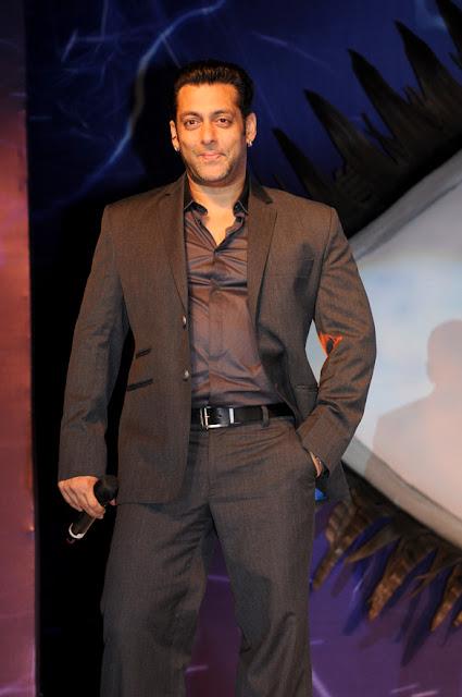 Salman Khan at Launch of 'Bigg Boss 6' on Colors TV