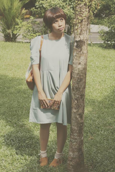 vintage dress, 40's vintage inspired outfit, sophie hatter, howl's moving castle, vintage shoes, vintage bag, retro, mori girl, mori style, mori kei