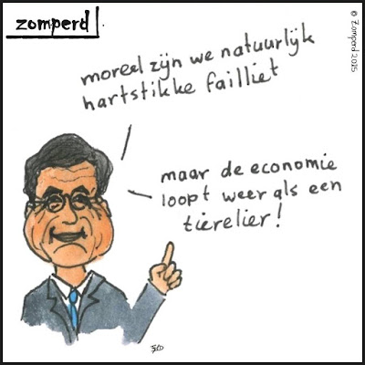 Zomperd - Mark Rutte - Prinsjesdag - Failliet