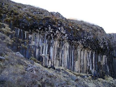 Cascada Svartifoss, Parcul natural Skaftafell, Islanda