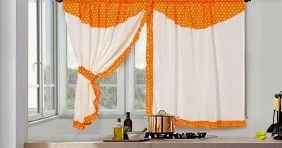 Dise os de cortinas para cocinas con lunares y flores decoractual dise o y decoraci n - Diseno de cortinas de cocina ...
