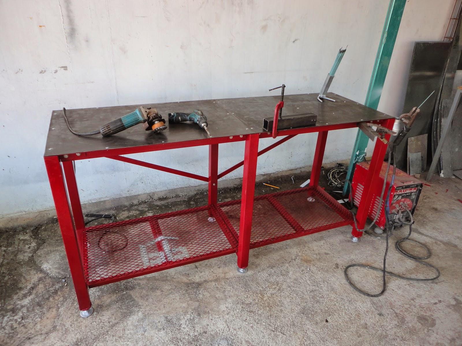 Mesa de trabajo para soldar los bestauradores for Mesas de trabajo para taller