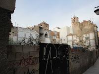 Málaga, solares resultado de demoliciones de edificios históricos en calle Tomás de Cózar 27-29-31-33