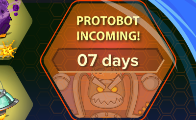 Club Penguin Future Party Protobot