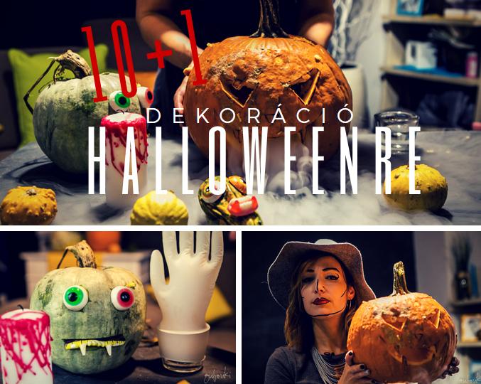 10+1 Halloween dekoráció saját kezűleg