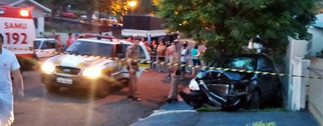 Iretama: Homem é baleado dentro do carro no centro de Iretama