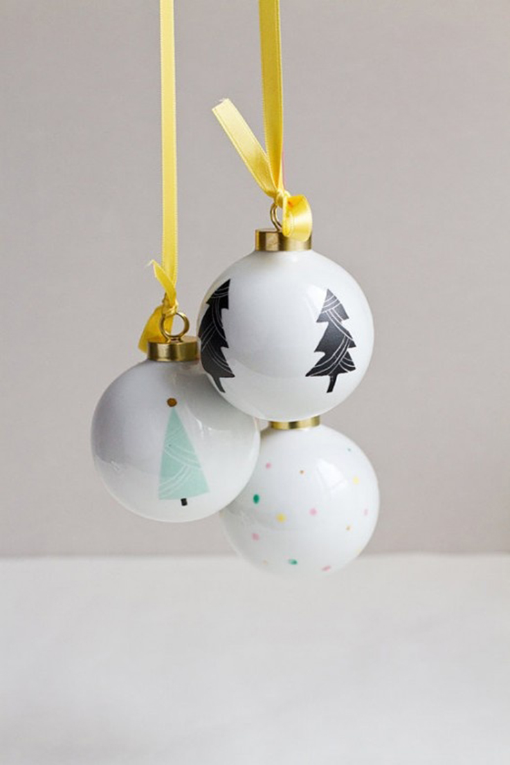 christmas tree diy balls