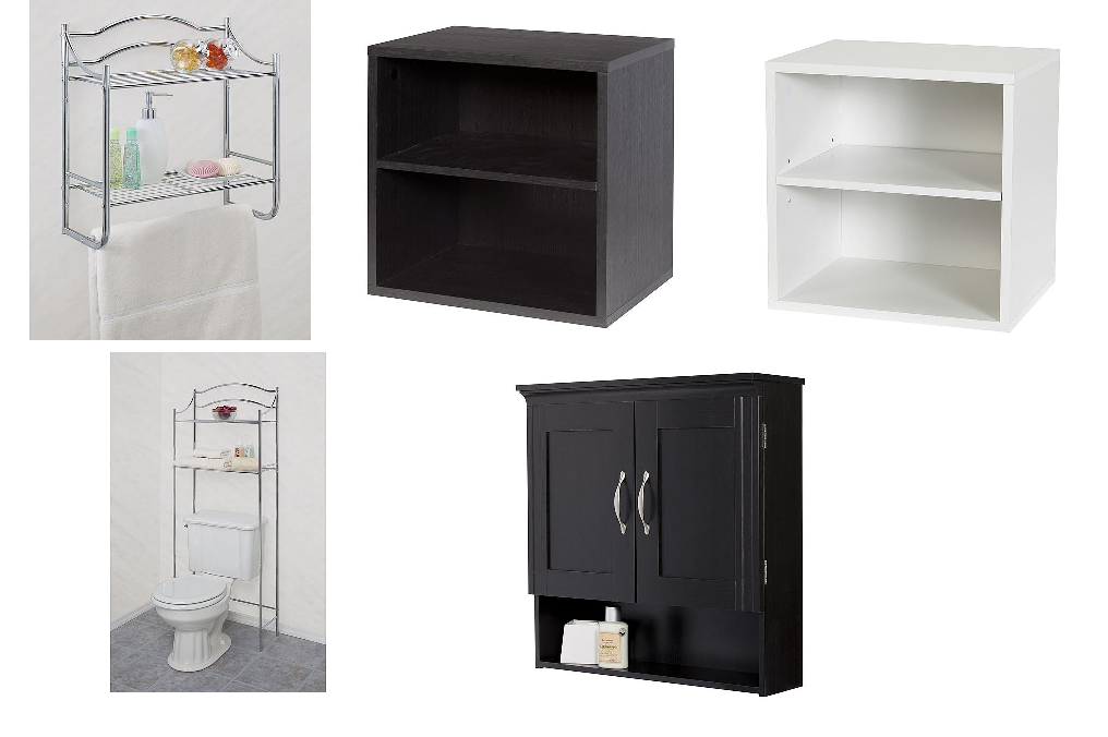 Fabulous KMart Bathroom Storage Items Clearance Sale Free Store Pickup Creative Ware Home Sommerset Wall Cabinet Wall Organizer w Tower Bar u Much More