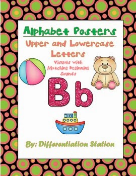 http://www.teacherspayteachers.com/Product/Alphabet-Posters-with-Visual-Images-of-Beginning-Sounds-826531