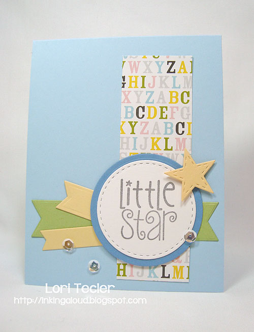 Little Star-designed by Lori Tecler/Inking Aloud-stamps from Verve Stamps
