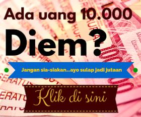 Manfaat dari uang Rp 10.000