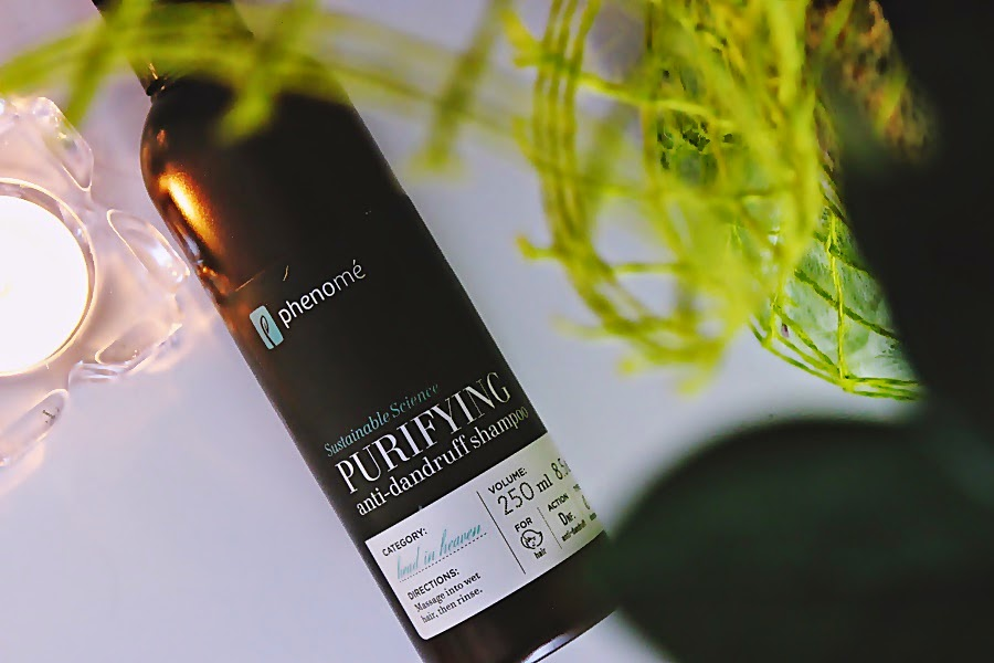 Phenome, Purifying Anti - Dandruff Shampoo , szampon phenome, szampon przeciwłupieżowy