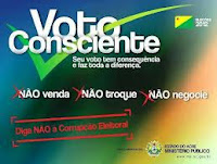 Gentio do Ouro - Cola do voto consciente: