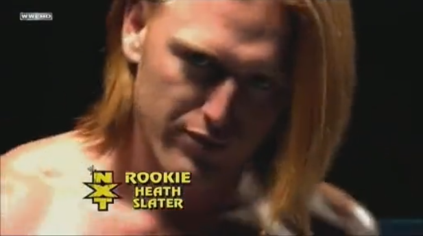 NXT Rookie Heath Slater One Man Rock Band