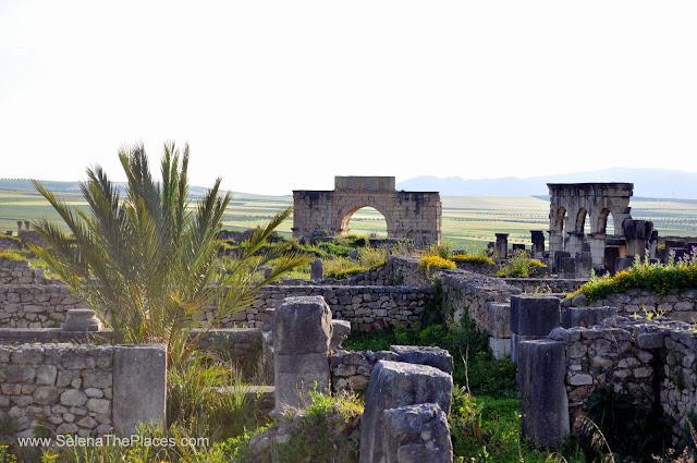 Volubilis Roman Ruins near Fez, Morocco