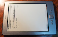 Amazon Kindle 4, Починенный нами киндлчик
