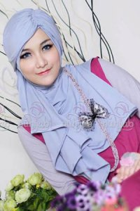 Nuhijab TNI - Grey (Toko Jilbab dan Busana Muslimah Terbaru)